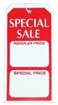Special Sale Tag - Unstrung - (Box of 1000)