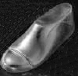 Clear Shoe Forms - Infant's Size 2