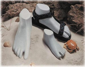 Sport Sandal Forms - Grey Sprinkle Finish