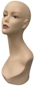 Female Mannequin Head - Fleshtone