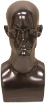 Male Mannequin Head - Black
