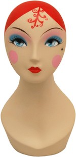 Female Mannequin Head - Vintage