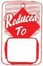 Reduced To Tag - Strung - (box of 1000)
