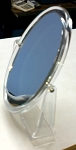 Countertop Double Sided Oval Mirror