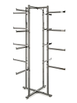 Folding Lingerie Tower w Rectangular Tubing Arms -61