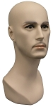 Male Mannequin Head - Fleshtone