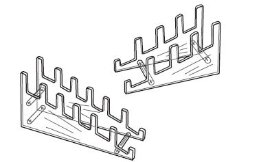 Multiple Plate Stand  sc 1 st  Joslin Displays & Multiple Plate Rack