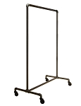 Pipeline Non-Adjustable Ballet Rack - anthracite grey finish
