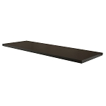 Black Melamine Shelf for Anthracite Grey Pipeline Wall Systems (Box of 2)