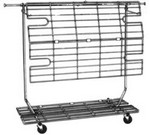 Folding Salesman's Rack- Screen/Shelf