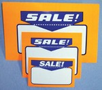Sign Cards - Sale - Pk of 100