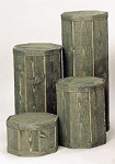 4 pc. Pedestal set - small