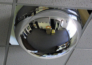 Dome Security Mirrors Acrylic Drop In