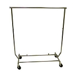 Single Rail Folding Salesman's Rack