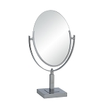 Double Sided Oval Mirror