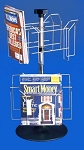8-Pocket Countertop Spinner Rack for 8.5