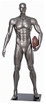Abstract Male Football Mannequin