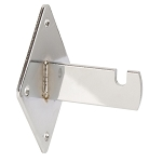 Chrome Gridwall Wall Brackets