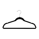 Velvet Slim-Line Suit Hangers with Notches (Box of 50)