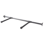 Anthracite Grey Pipeline Hangbar with two 12