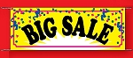 Large 3'x8' Big Sale Banner - Confetti Collection