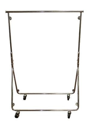Compact Light Duty Knockdown Garment Rack
