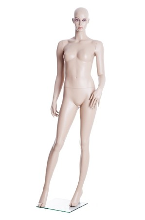 Fleshtone Female Mannequin (Wig Not Included)