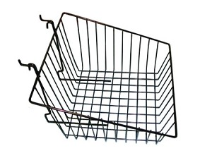 "12""x12""x8""x4"" Sloping Universal Wire Baskets ( box of 6)"