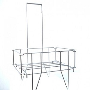 Silver Stand for 90-111 Baskets