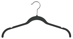 Velvet Slim-Line Blouse Hangers with Notches  (Box of 50)