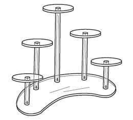 5 Pedestal Group