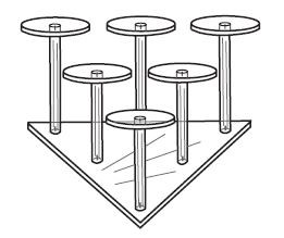 6 Pedestal Group