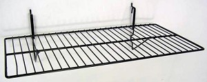 "Gridwall/Slatwall 12""x24"" Shelf (box 6)"