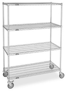 "74"" Post & Shelf Units - Mobile"