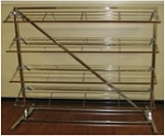 8 SHELF DOUBLE SIDED SHOE RACK