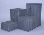 4 pc Pedestal Set