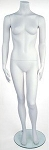 Headless Female Judy Mannequin - Cameo White