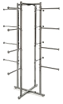 Folding Lingerie Tower w Round Tubing Arms -61