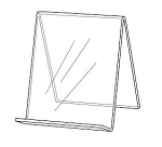 Acrylic Book Easel - No Lip
