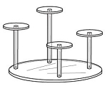 4 Pedestal Group