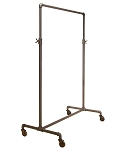Pipeline Adjustable Ballet Rack - anthracite grey finish