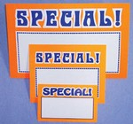 Sign Cards - Special - Pk of 100