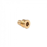 "Brass End Cap Screw (5/8"") for Pipe & Hairpiece Attachments"
