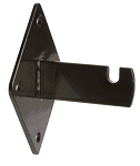 Black Gridwall Wall Brackets