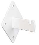White Gridwall Wall Brackets