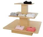 3-Tier Square Merchandising Table (FOB Factory)