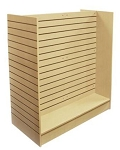 Slatwall Gondola Merchandiser (Choose Color)